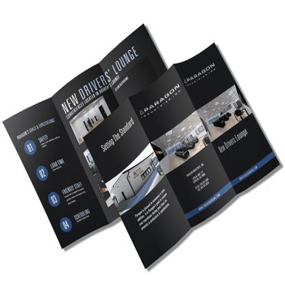 brochures - printing at MM Spot