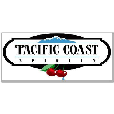 pacific-coast-spirits-wine-logo-design